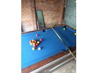 Pool table 6 foot, Pub pool table