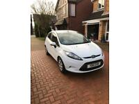 White Ford Fiesta 1.6 econetic 5 door Diesel