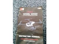 Remote controler 4 whirl wind x252 quadcopter