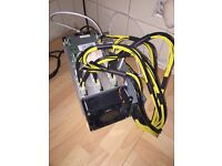 Bitcoin Antminer S7 Miner with APW3-12-1600-B2-PSU