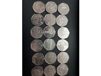 Olympic games 50p set