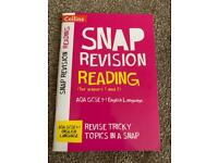 Collins AQA English Language 9-1 Snap Revision Reading for Papers 1 & 2