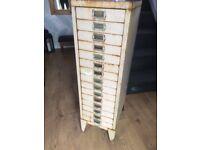 Vintage metal cabinet, Owen & Randell (stor cabinets) Ltd