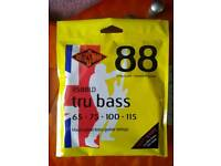 Rotosound tru bass RS88LD bass guitar strings