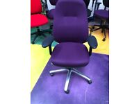 Therapod High Back Task Chair/Operators Chair/ Ergonomic Home Office Chair
