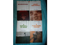 Kafka, Huxley, Hemingway, Burgess 'Banned Books' for sale - excellent condition