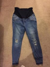 Size 12 new look maternity jeans