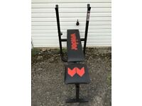Weiider folding weight bench Hungerford (Berks) or Didcot (Oxfordshire)
