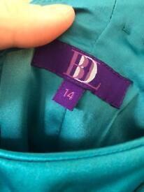 Pair of women's designer dresses size 14