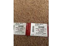 2x U2 The Joshua Tree Tour tickets concert