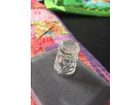 Waterford crystal thimble