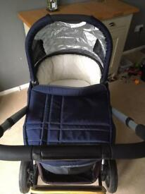 Uppababy Vista in Taylor Blue (indigo) 2014 model