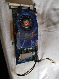 Sapphire Radeon HD 3850 AGP card