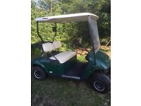 Ez-Go Electric Golf Buggy. Green. Excellent battery power + Charger. Ideal for golf/garden/farm