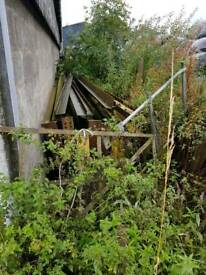 Steel shed frame 120x60