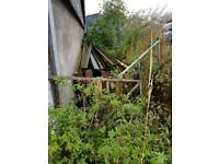 Steel shed frame 120x60