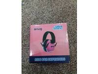 Brand New Snug Safe n Sound Kids Pink Ear Defenders
