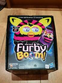 Furby Boom pink stripes