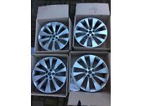4x Vauxhall Mokka Alloy Wheels 18inch Original Vauxhall Alloys Part No. 94781734