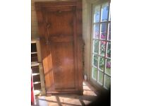 Oak Wardrobe/Armoire