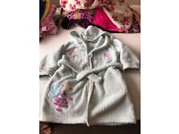FREE Girls dressing gown used 3-4 years used