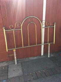 Brass Headboard