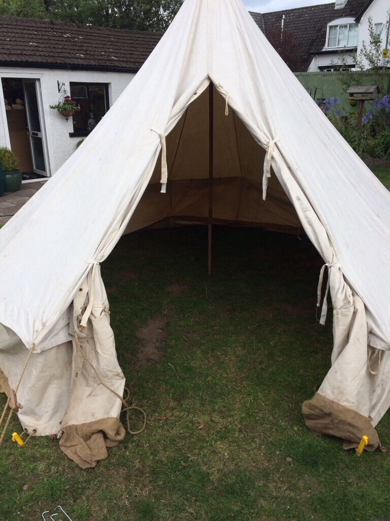 low priced 6e22e 89d34 Classic bell tent teepee yurt camping | in County Antrim | Gumtree