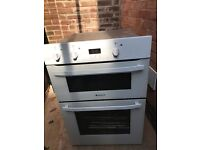 Built in double oven, just over a year old. Perfect working order. Changed due to new kitchen