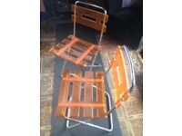 John Lewis 'Lolly' folding chairs