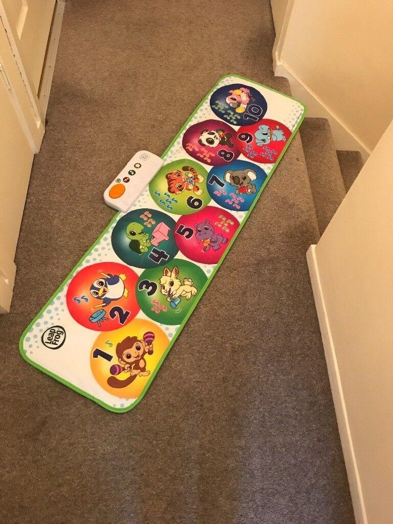 New leap frog musical floor mat