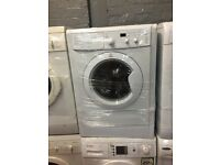 nice white indesit washing machine 7kg 1400 spin in excellent condition in full working order