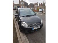 Toyota Yaris 2005. Full Mot and Service History. 108,886 Miles. Low tax and insurance. £875.