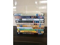 10 Dvds for sale