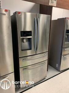 STAINLESS STEEL FRIDGES ALL Major Brands & Best Quality get $100 Off Automatically
