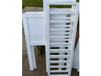 Mothercare White Crib
