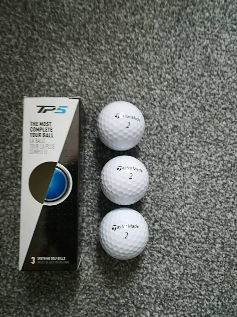 3 taylormade tp5 golf balls