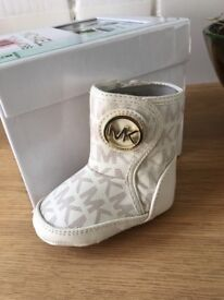 Michael Kors Baby Boots - NEW - 0-3 months