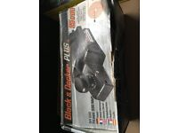 Black and Decker Plus Electric Planer SR60. 500watt, 75mm. Used, Working, Boxed.