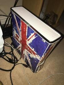 xbox 360 with power lead