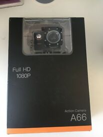 Action Camera A66, Full HD 1080P