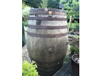 Large whisky barrel