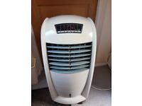 Freestanding fan/air cooler