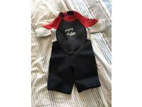 Billabong wetsuit for toddler