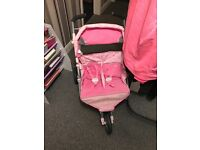 Baby born double pushchair