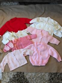 New and used baby girl clothes for 0-3 months,3-6 months