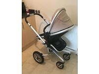 Silver cross surf 2 travel system in sand