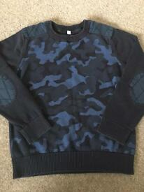 Boys m&s jumper age 5-6 years