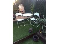 Lovely solid Iron patio set