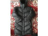 Gap girls padded fleece lined coat