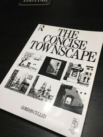 The Concise Townscape by Gordon Cullen - Excellent Used Condition Book ** Only £10 !!